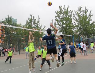 2017年教职工排球赛